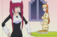 Riruka gives Orihime Breakfast