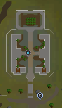 Edgeville Monastery map