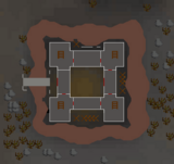 Dark Warriors' Fortress location