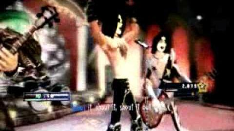KISS in Guitar Hero 5-0