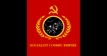 Socialist Cosmic Empire Flag