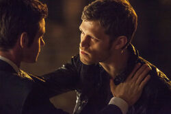 Klaus and Elijah TO