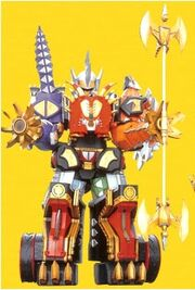 DT Triceramax Megazord