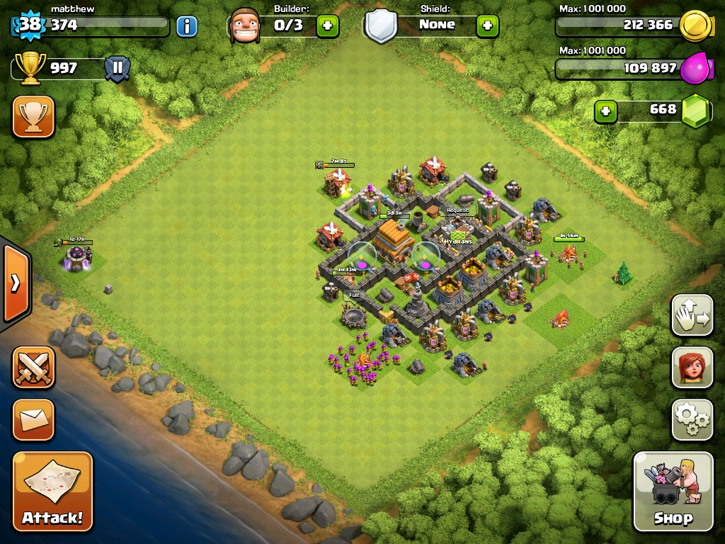 Clash Of Clans Base Layouts Level 5 | Apps Directories