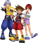 Sora, Riku et Kairi 1.5