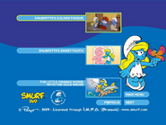 SmurfsSmurfetteCollectionDisc2menu2