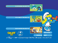 SmurfsSmurfetteCollectionDisc3menu3