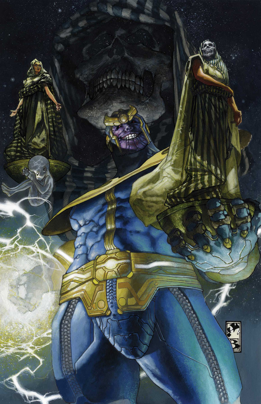 Thanos Rising Vol 1 3 - Marvel Comics Database