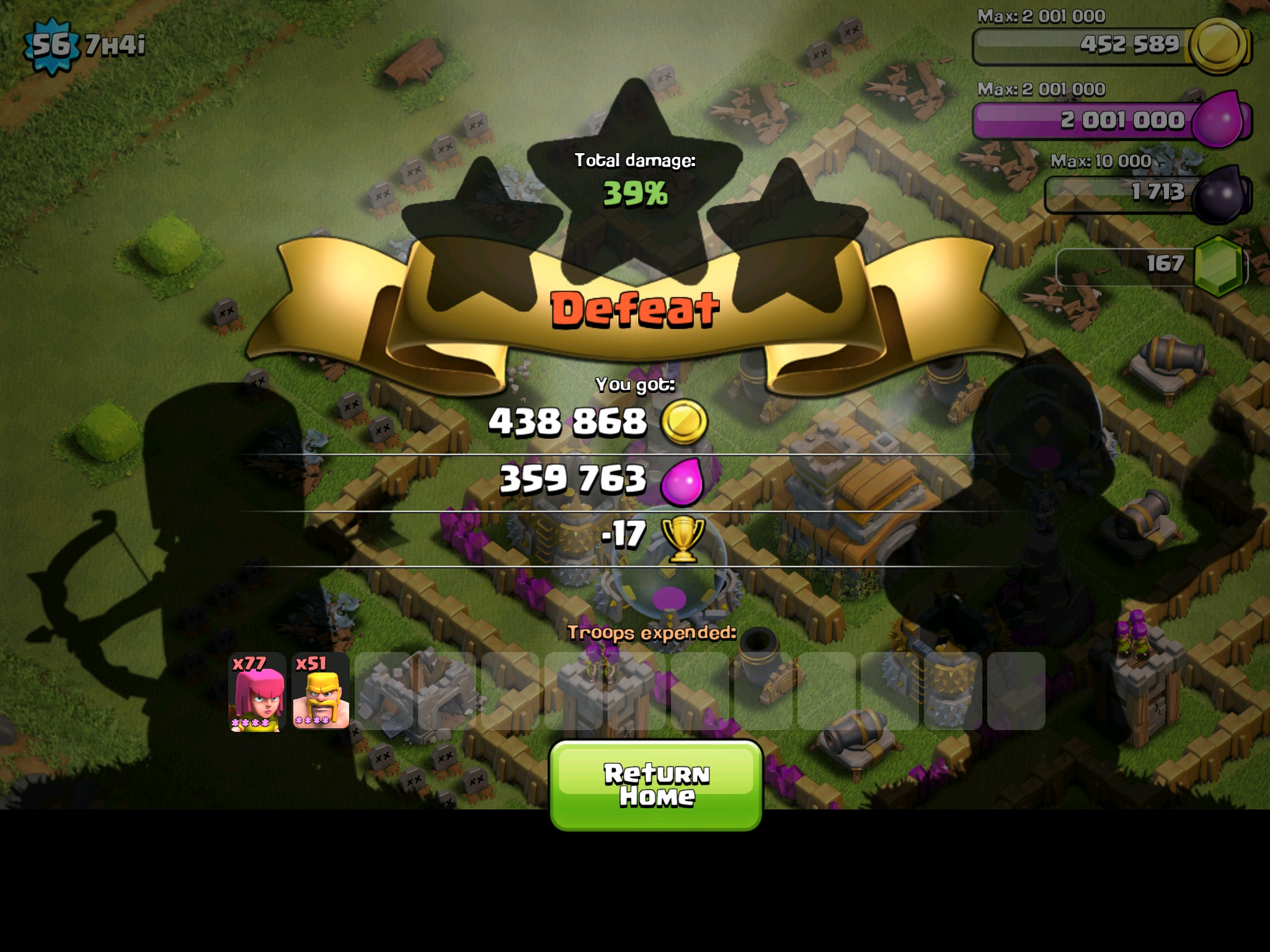 Clash of Clans Town Hall 9 Farming Base