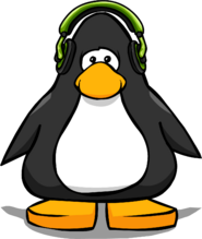 Green Headphones PC