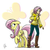 Fluttershy by GlancoJusticar