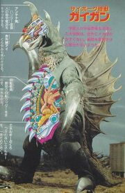 Gigan Anatomy