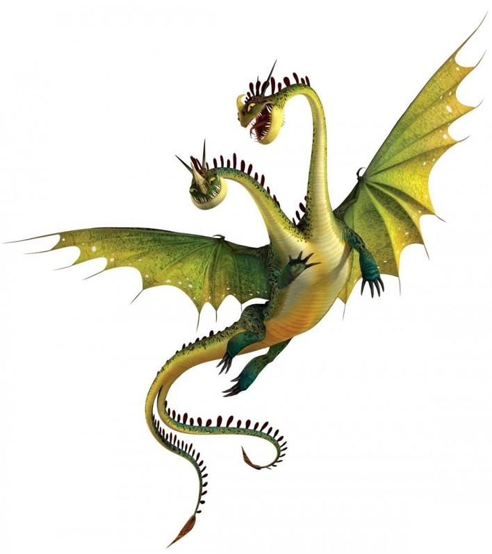 Hideous Zippleback - Dreamworks Animation Wiki