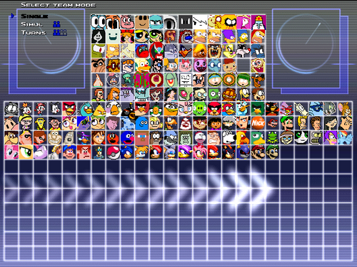 Original Chars - [ CHARACTERS ] - Mugen Free For All