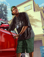 Lamar stealing car 14 rgb02052013-GTAV