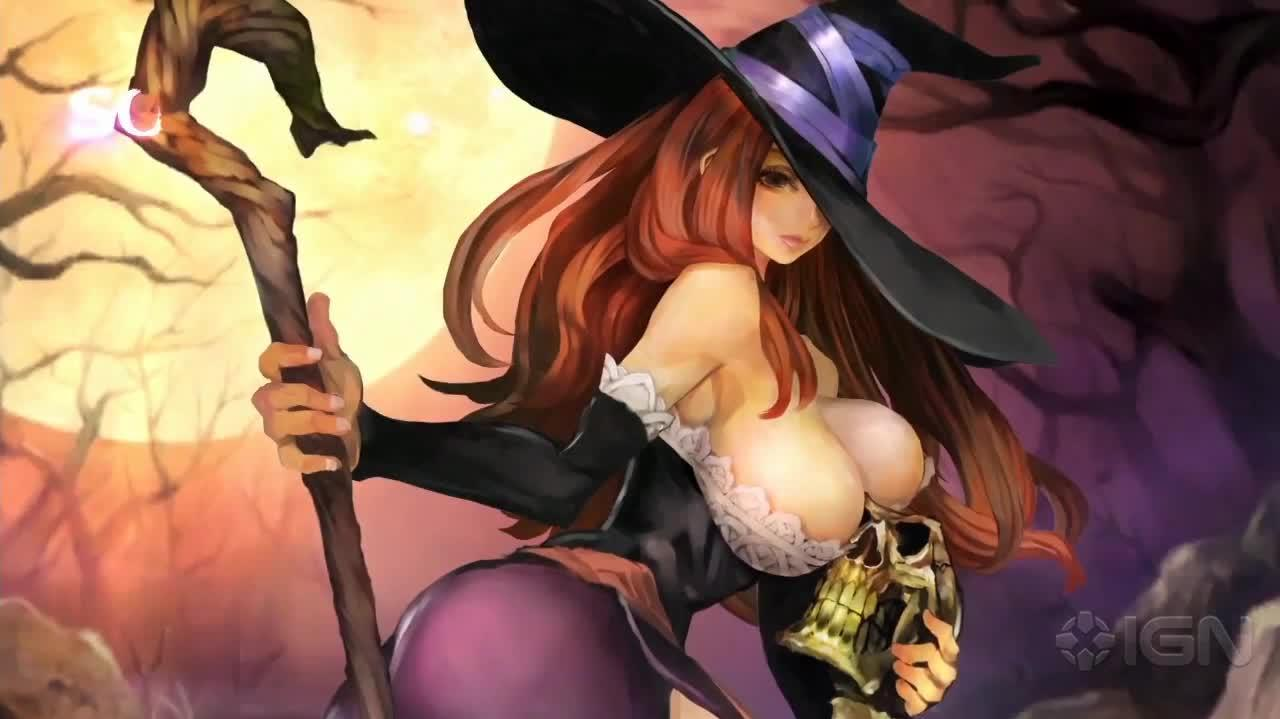 This Is the Sorceress in Dragon's Crown