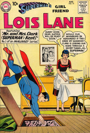 Cover for Superman's Girlfriend, Lois Lane #19