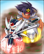 Chibi Blaster Blade And Gallatin