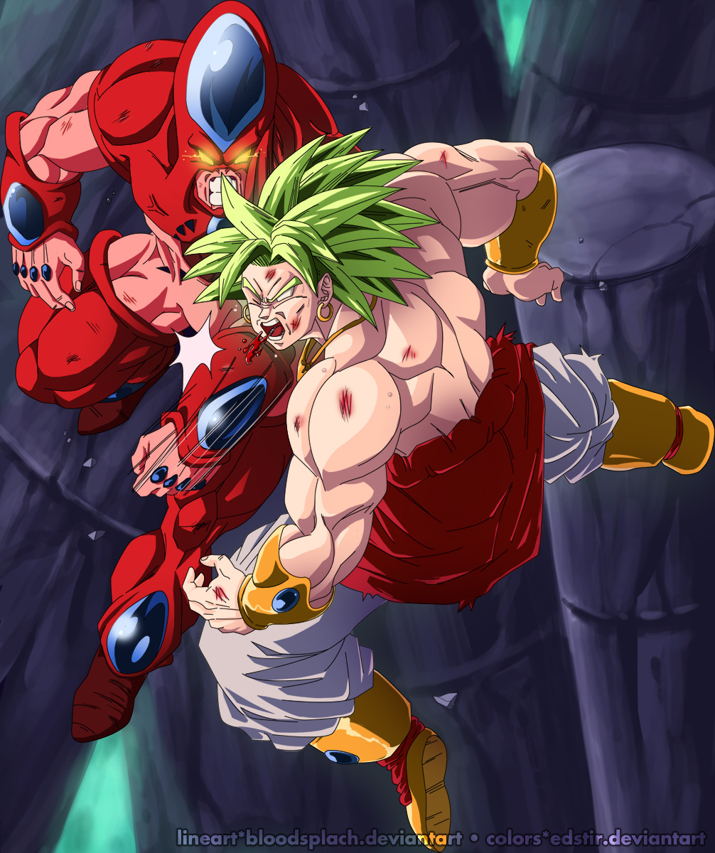 Hatchiyack vs broly by edstir-d5h2p3g