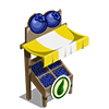 Organic Blueberry Stall-icon