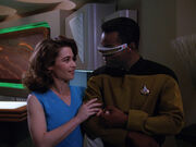 Henshaw and La Forge