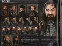 Bofur early desing voor movie