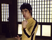Mike Diva as Bruce Lee
