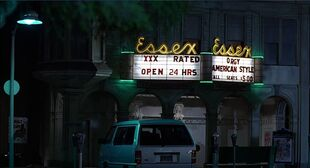 Essex Theater 1985 night