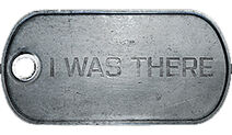 Battlefield 3 I Was There Dog Tag