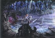 Ice Cavern FFIX Art 1