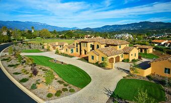 Part of the present day Ojai Rancho