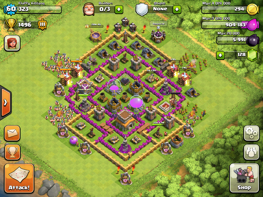 Clash of Clans Level 8 Town Hall Defence Strategy