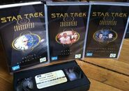 Star Trek Crossovers VHS contents