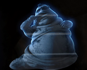 Hologram of Marlo the Hutt