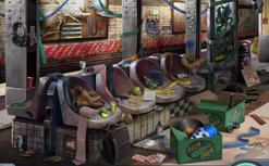 Bancos de metrô