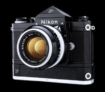 Nikon F Motor Black Camera 50mm Austin Calhoon Photograph