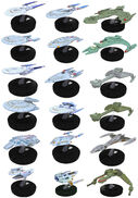 Wizkids Star Trek Tactics starship promos