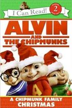 A&TC A Chipmunk Family Christmas Book Cover