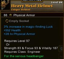 Heavy Metal Helmet