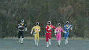 Megaranger (Super Hero Taisen)
