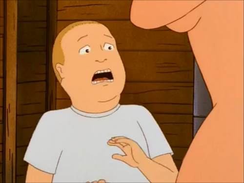 P Bobby Screams After Seeing Luanne Naked