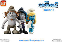The Smurfs 2 Anouncement Wallpaper