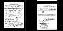 U.S. World War I Draft Registration Card 1917-1918 for Emil August Schneider