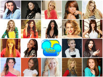 Disney Girl Collage 2013