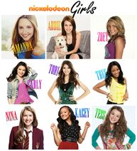 Nickelodeon Girls Collage Names