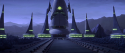 Dooku palace by night