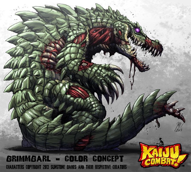 Fan-mades do Windstorm Kaiju_combat_grimmgarl_by_kaijusamurai-d60wxcw