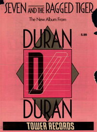 Tower records advert wikipedia duran duran