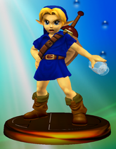Young Link All-Star Trophy (Super Smash Bros. Melee)