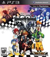 Kingdom Hearts HD box art